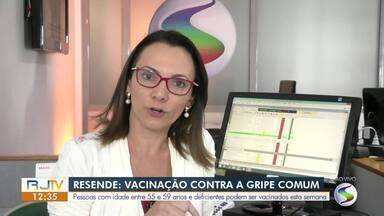 Mais uma etapa da campanha de vacinação contra a gripe começa nesta segunda no Sul do Rio - Público-alvo são pessoas com idades entre 55 e 59 anos.