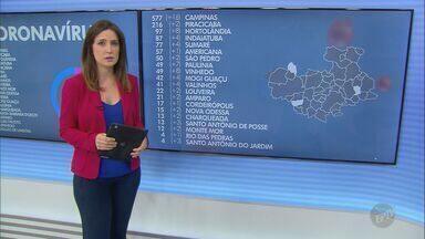 Coronavírus: Hortolândia confirma 12ª morte; veja atualização de casos na região - Vítima de 81 anos estava internada no AME Campinas e veio a óbito nesta segunda-feira (11).
