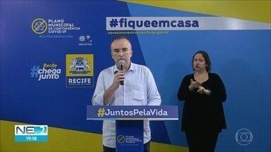 Prefeitura do Recife fará fiscalização em blitze durante quarentena - Quarentena é válida a partir do sábado (16).