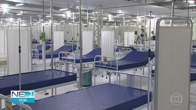 Paulista inaugura hospital de campanha para tratar doentes do coronavírus - Unidade tem 60 leitos, que começam a funcionar aos poucos.