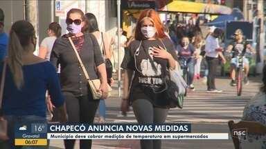 Prefeitura de Chapecó anuncia novas medidas para prevenção da Covid-19 - Prefeitura de Chapecó anuncia novas medidas para prevenção da Covid-19