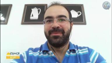 Representante da Embrapa fala sobre as ações da instituição - Frederico Botelho, chefe de transferência de tecnologia da Embrapa Rondônia explica algumas ações realizadas neste período, como testes da Covid-19, cursos online e vídeos para produtores.