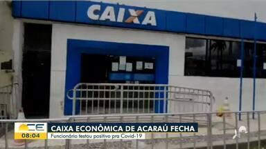 Funcionário confirma Covid-19 e CEF fecha agência em Acaraú - Saiba mais em g1.com.br/ce