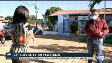 Governo considera situação da COVID-19 crítica em Floriano - Governo considera situação da COVID-19 crítica em Floriano
