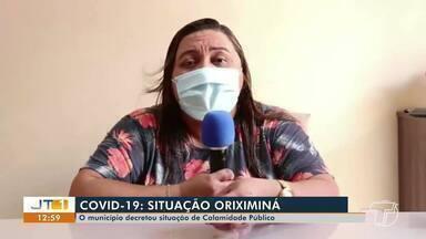 Município de Oriximiná decreta situação de 'calamidade pública' por causa do coronavírus - Secretária de Saúde explica ações na cidade.