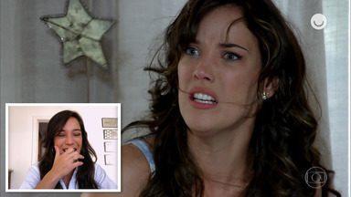 Adriana Birolli reage às cenas de Patrícia em 'Fina Estampa' - Confira!