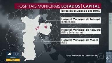 Prefeitura abre edital solicitando 100 leitos de UTI de hospitais privados para Covid-19 - Gestão municipal já fechou parceria com 13 hospitais para ampliar rede de atendimento