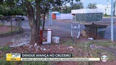 Dengue avança no Cruzeiro - Número de casos até abril é quatro vezes maior que em 2019.