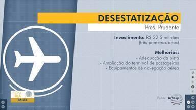 Audiência pública detalha plano de desestatização de aeroportos - Presidente Prudente deve receber o segundo maior investimento.