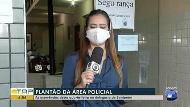 Plantão policial: confira as informações da polícia desta quarta-feira - Um homicídio foi registrado na comunidade de Perema.