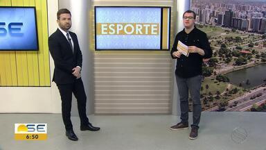 Veja os destaques do esporte com Thiago Barbosa - Veja os destaques do esporte com Thiago Barbosa.