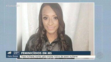 Justiça diz não encontrou arma de homem que matou sogra em Costa Rica - Treze mulheres foram vítimas de feminicídio em 2020 em MS