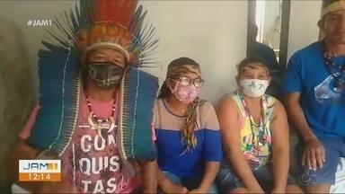 Família indígena pede para voltar para Santo Antônio do Içá, no AM - Indígenas gravaram vídeo para pedir ajuda.