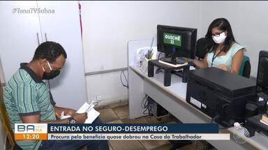 Procura por auxílio desemprego dobra em um mês em Feira de Santana - Confira.