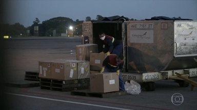 Governo do Pará investiga a compra de respiradores que chegaram com defeito - Nesta quarta-feira (13), a Polícia Federal prendeu em Brasília um empresário suspeito de estar envolvido com a venda desses equipamentos. Outro suspeito está foragido.