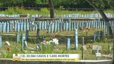 Coronavírus: Ceará se torna o segundo estado com mais casos confirmados da doença - O Ceará passou dos 20 mil casos confirmados de Covid-19 e agora é o segundo estado do país com mais pessoas infectadas pelo novo coronavírus, atrás apenas de São Paulo.