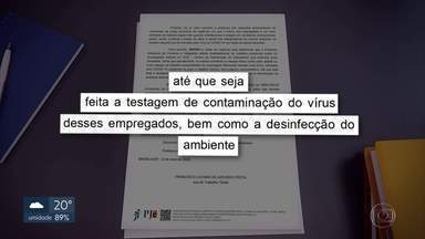 Justiça determina afastamento de funcionários dos Correios - Foi no Centro de Distribuição de Sobradinho depois que um funcionário foi infectado pelo coronavírus.