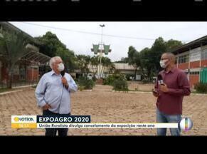 União Ruralista Rio Doce divulga o cancelamento da EXPOAGRO 2020 pelas redes sociais - A organização da exposição disse que esse é um momento de cautela por isso a festa não vai acontecer.