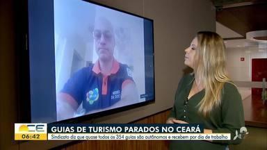 Guias de turismo sentem os impactos da pandemia - Saiba mais em g1.com.br/ce