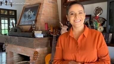 Reveja o primeiro bloco do Galpão Crioulo deste domingo (17) - Assista ao vídeo.