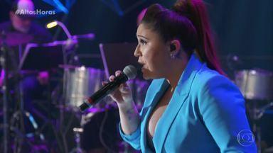 """Maria Rita canta """"Coração Em Desalinho"""" - Cantora revela que sempre canta a música com a versão de Zeca Pagodinho na cabeça"""