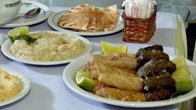 Trazida por imigrantes, gastronomia árabe é marca em São José do Rio Preto - Antena Paulista faz tour por Brodósqui, cidade do pintor Cândido Portinari.