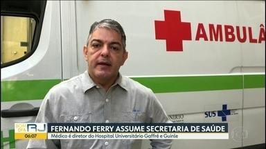Secretario de saúde Edmar Santos é subsitituído por Fernando Ferry - Atraso nos hospitais de campanha e irregularidades em compras de respiradores motivaram a saída de Edmar Santos.