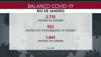 Fila de leitos de UTI para Covid-19 no Rio. - Estado tem 342 pessoas em estado grave pela covid-19 esperando um leito de UTI