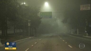 Capital amanhece com forte nevoeiro - Fenômeno foi visto em vários pontos da cidade,.