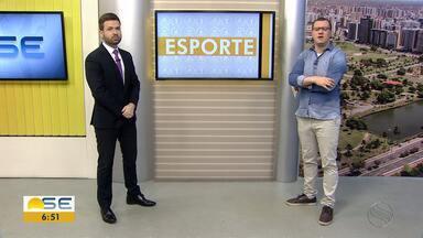 Thiago Barbosa aborda rotina de atletas sergipanos - Thiago Barbosa aborda rotina de atletas sergipanos.