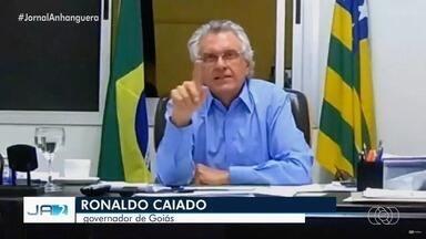 Pela internet, governador se reúne com prefeitos para tomar medidas de isolamento em Goiás - Eles debateram quais medidas serão tomadas.