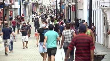 Maranhão tem ruas cheias depois do fim do lockdown - Restrição durou 13 dias; mas os resultados do lockdown costumam aparecer depois de 14 dias.