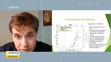Estudo detalha curva de contaminação da Covid-19 em Manaus e fala em novo pico - Estudo detalha curva de contaminação da Covid-19 em Manaus e fala em novo pico