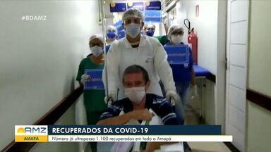 Amapá tem mais de 1,1 mil pacientes recuperados da Covid-19 - Amapá tem mais de 1,1 mil pacientes recuperados da Covid-19