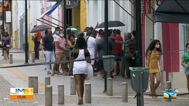 Rua Grande em São Luís registra movimentação após o lockdown - O repórter Adailton Borba tem mais informações.