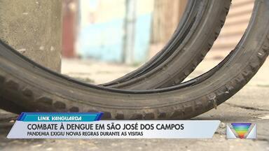 Aumenta o número de casos de dengue na região - Em São José, prefeitura intensifica visitas às casas em bairros com risco