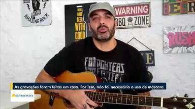 Músico recomenda arte para aliviar o estresse e as preocupações em momento de pandemia - Rodolpho é integrantes da banda Os Bartira, de Nova Friburgo.