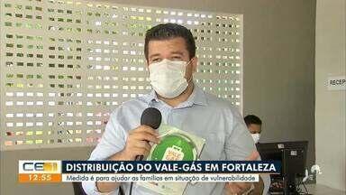 Famílias começam a receber o vale-gás em Fortaleza - Saiba mais em g1.com.br/ce