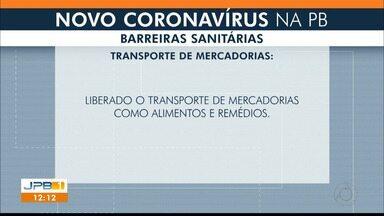 Decretos da Grande João Pessoa são prorrogados - Novas barreiras sanitárias são instauradas.