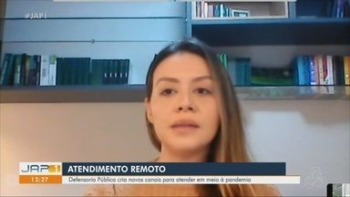 Defensoria Pública do Amapá realiza atendimentos remotos em meio à pandemia - Instituição criou novos canais online para atender cidadãos isolados em casa, durante decretos que restringem a circulação de pessoas em vias públicas do estado.