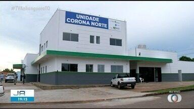 Novo espaço é criado em Araguaína para atender pacientes com a Covid-19 - Novo espaço é criado em Araguaína para atender pacientes com a Covid-19