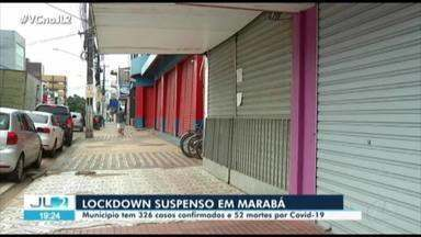 Marabá tem lockdown suspenso - Marabá tem lockdown suspenso