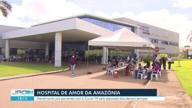 ALE e Hospital do Amor firmam convênio para atender pacientes de Covid-19 - Veja assuntos da coletiva nesta terça-feira (19).