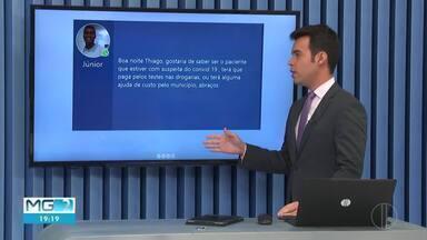Veja as mensagens enviadas pelo telespectadores no MG2 - Mensagens podem ser enviadas para (38) 98834-3348.