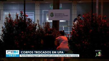 Upa pede exumação de corpos trocados na unidade - Confira mais notícias em g1.globo.com/ce