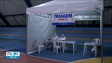 Nova Central de Triagem é inaugurada na cidade de Pilar - Cidade tem 4 mortes por Covid-19 registradas, segundo o último boletim da Sesau.