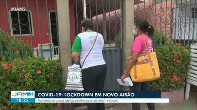 Novo Airão, no AM, decreta lock down após aumento de casos da Covid-19 - Novo Airão, no AM, decreta lock down após aumento de casos da Covid-19