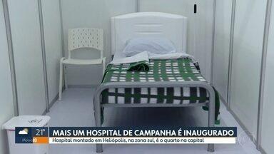 Ocupação de UTIs em São Paulo é de 89% - De acordo com o último boltim, 495 pacientes estão internados em UTIs nos hospitais municipais; 355 estão em ventilação mecânica, ou seja, usando respiradores. A taxa de ocupação das UTIs da rede municipal é de 89%.