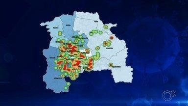 Sorocaba divulga mapa com bairros onde há registro de coronavírus - Zona leste, norte e região central possuem casos confirmados de Covid-19.