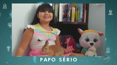 Coronavírus: papo sério de Jullya e Olívia - Crianças de 11 e 8 anos comentam a pandemia e falam sobre a importância da higienização das mãos e do uso de máscaras.